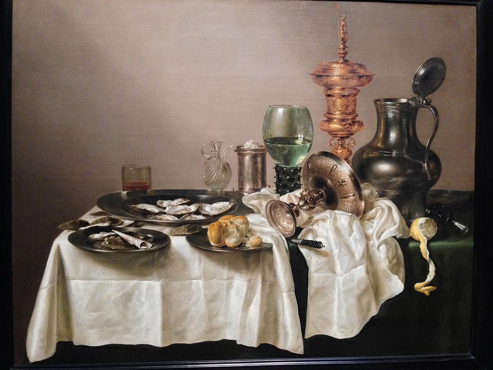 Willem Claesz Heda, Still Life With Gilt Goblet. 1635 88cm x 113cm