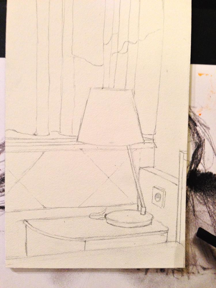 a clear direction before starting a painting even yields better drawing
