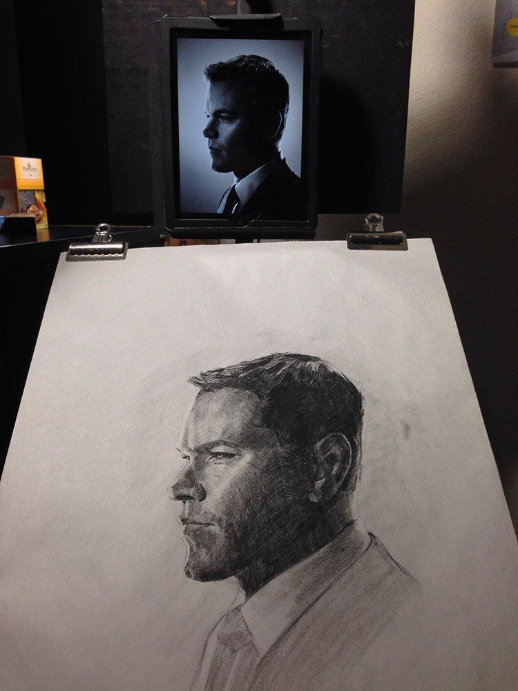 appropriate portrait study, setup image