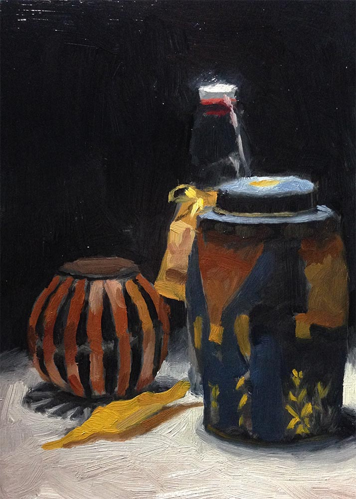 Still Life Painting: Containers