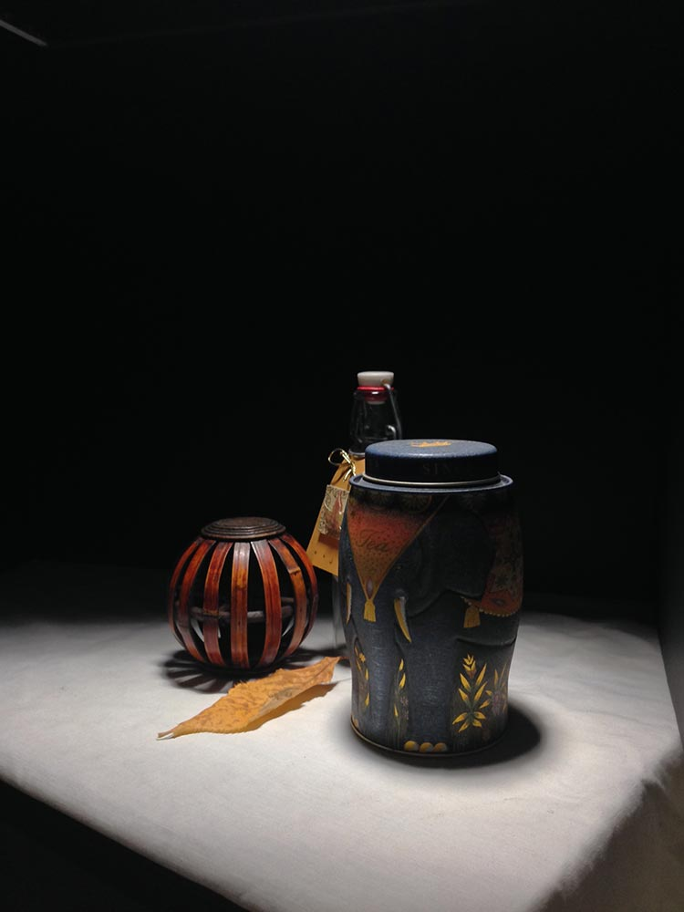 Still Life Painting: Containers, subject