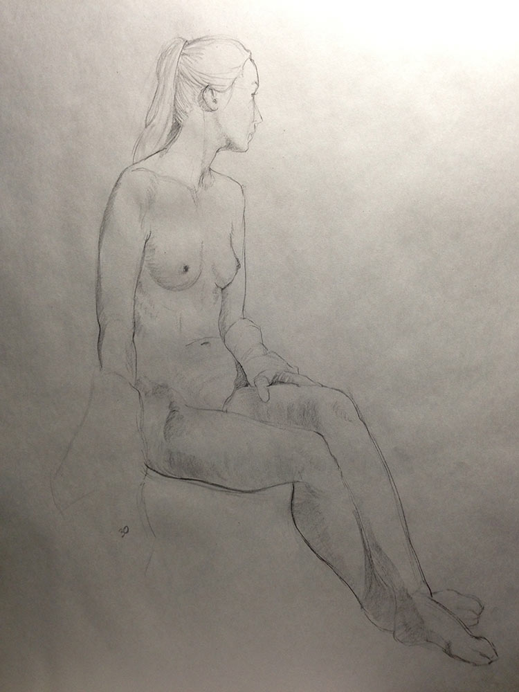 Success In Life Drawing: 30 minute pose