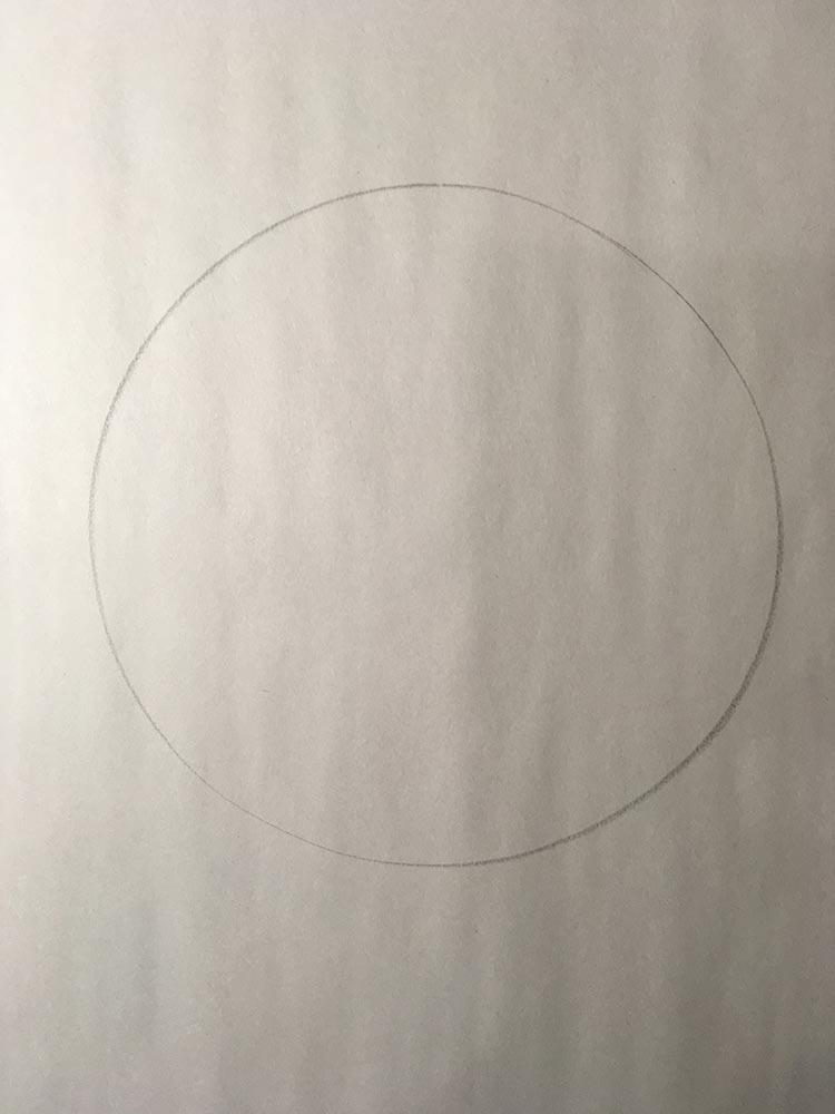 Life Drawing, perfect circle