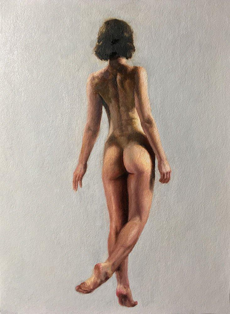Female Figure Painting: Finished
