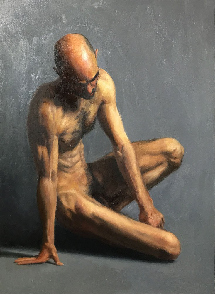 Male Figure Painting: Session 11, Finished?