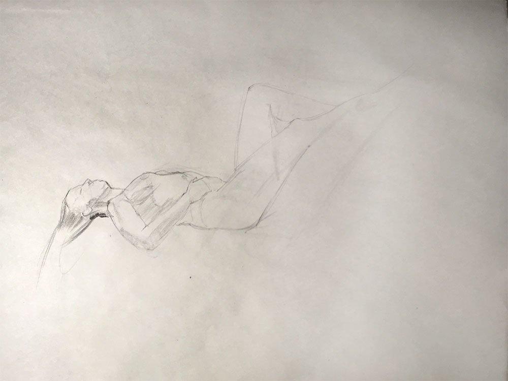 Life Drawing, 20 min