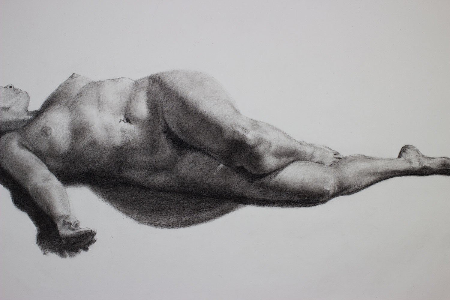 Drawing Finished, detail