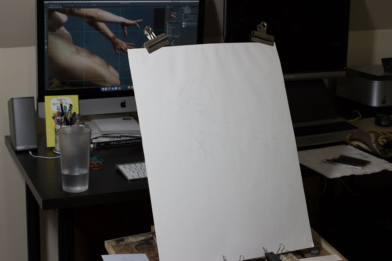 New Drawing: Magic, setup