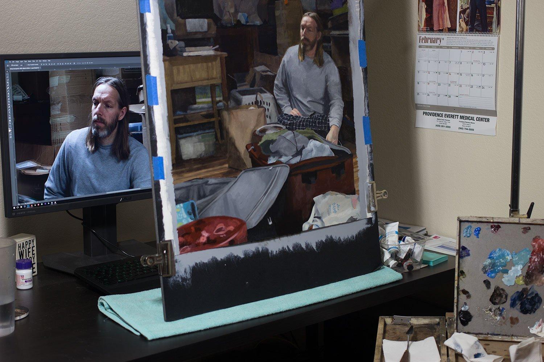 Living Room: Starting Refinement, setup