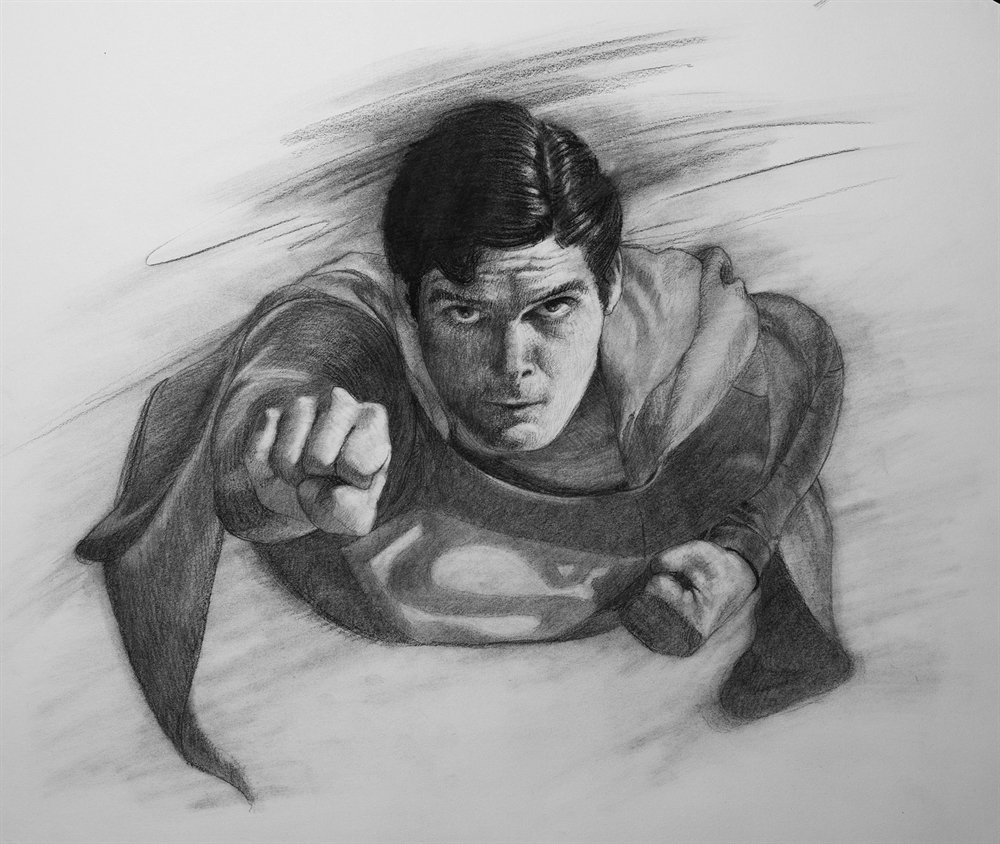 Superman by Chris Beaven