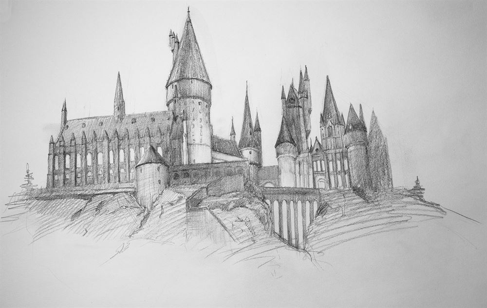 Hogwarts by Chris Beaven