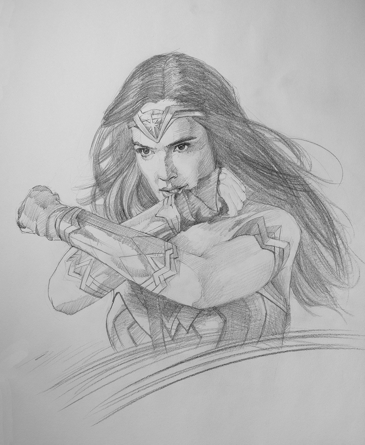 Wonder Woman by Chris Beaven