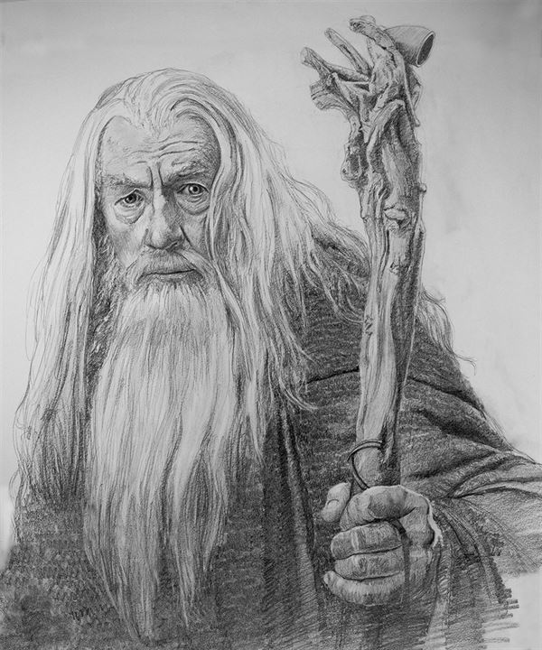 Gandalf by Chris Beaven
