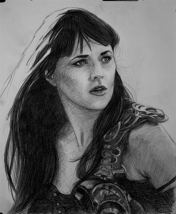 Xena drawing finished