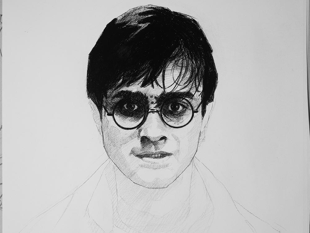 Harry Potter drawing cover