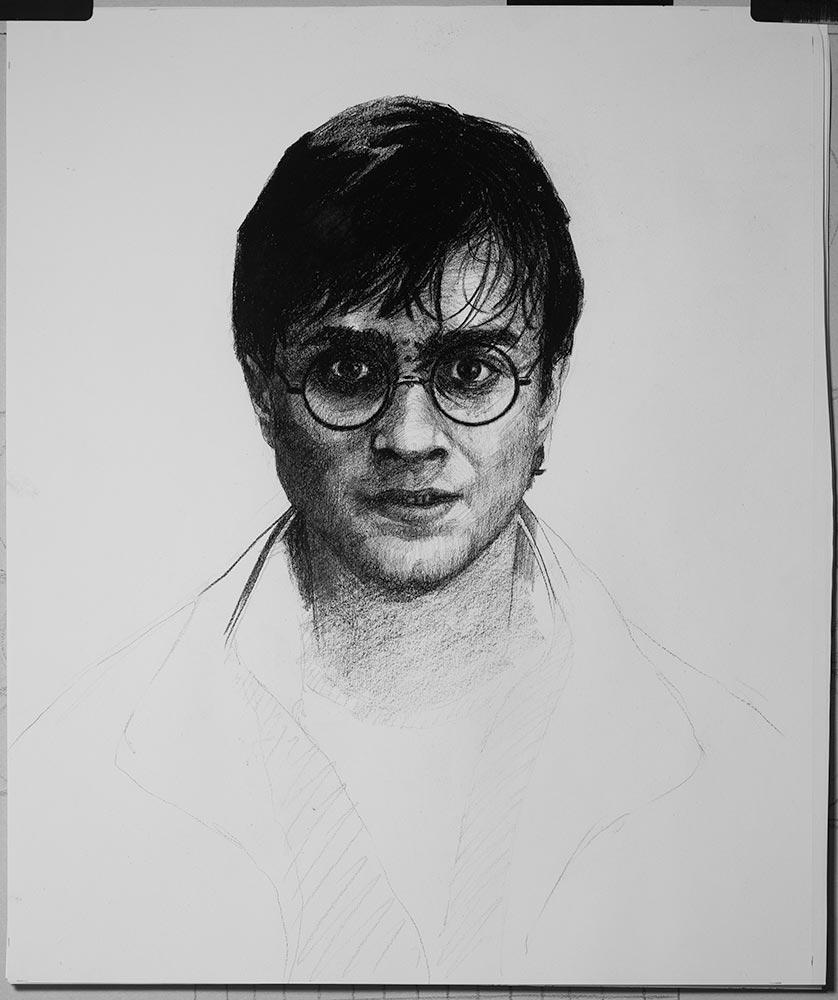 Harry Potter fandom fitness drawing