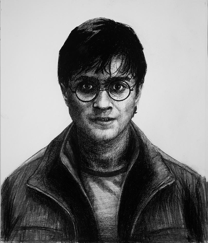 Harry potter drawing finished