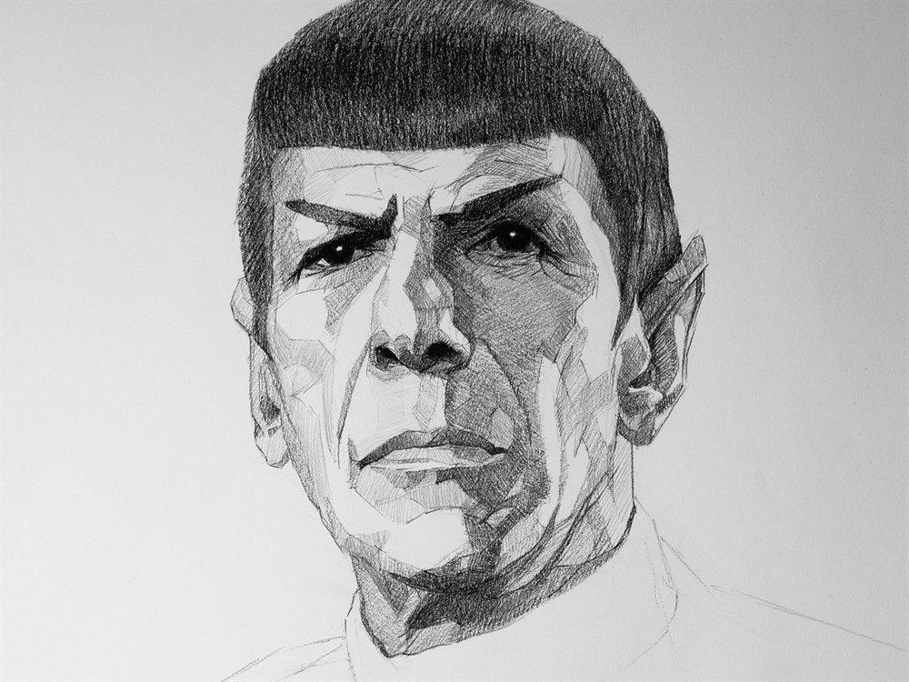 mr spock cover