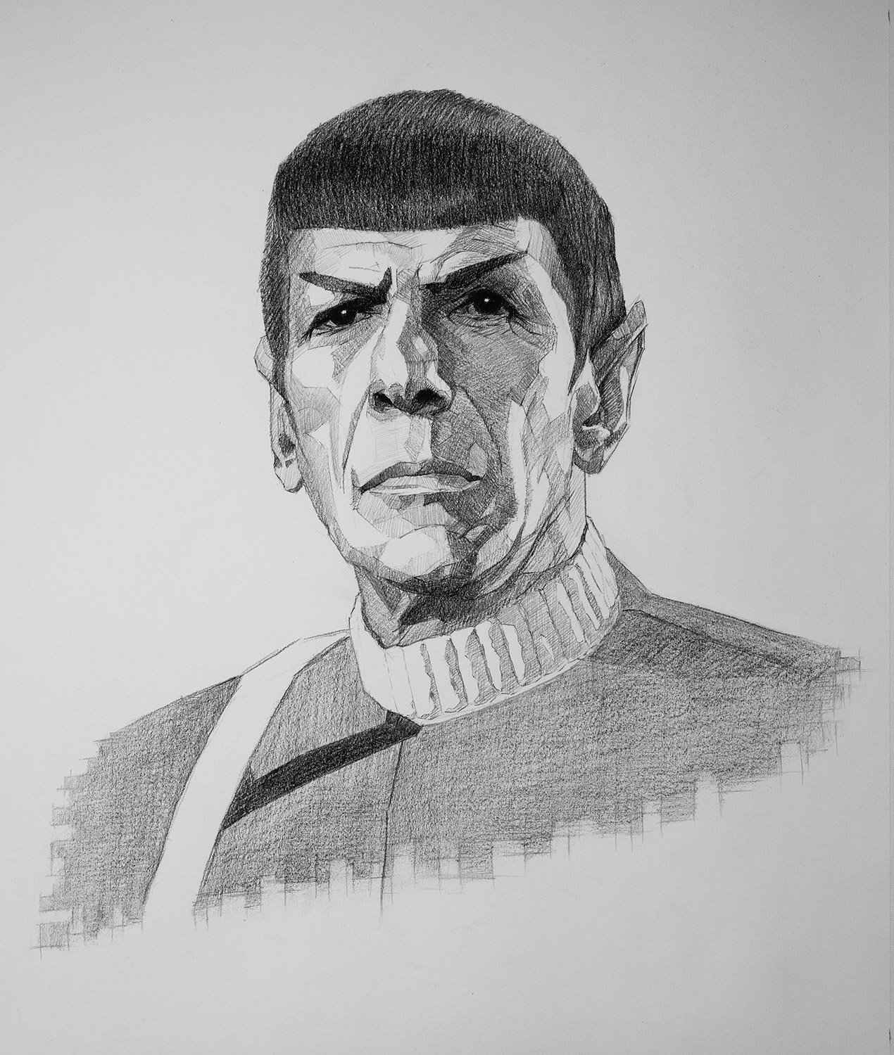 Spock by Chris Beaven