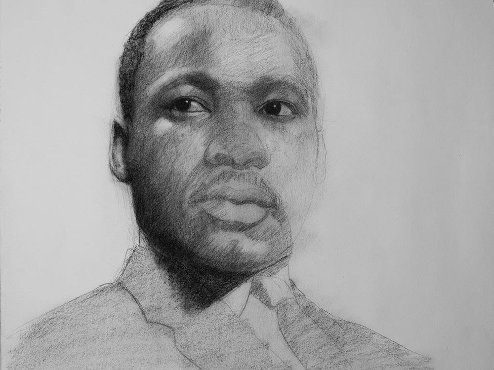 Martin Lulther King drawing cover