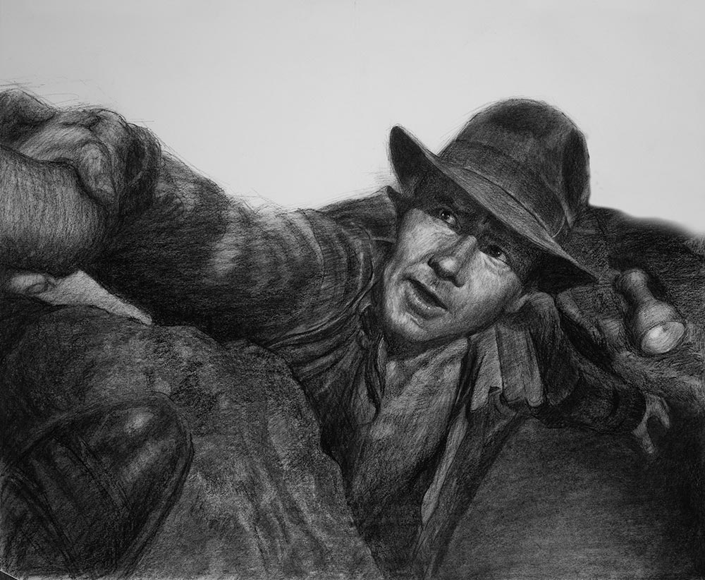 Indiana Jones by Chris Beaven