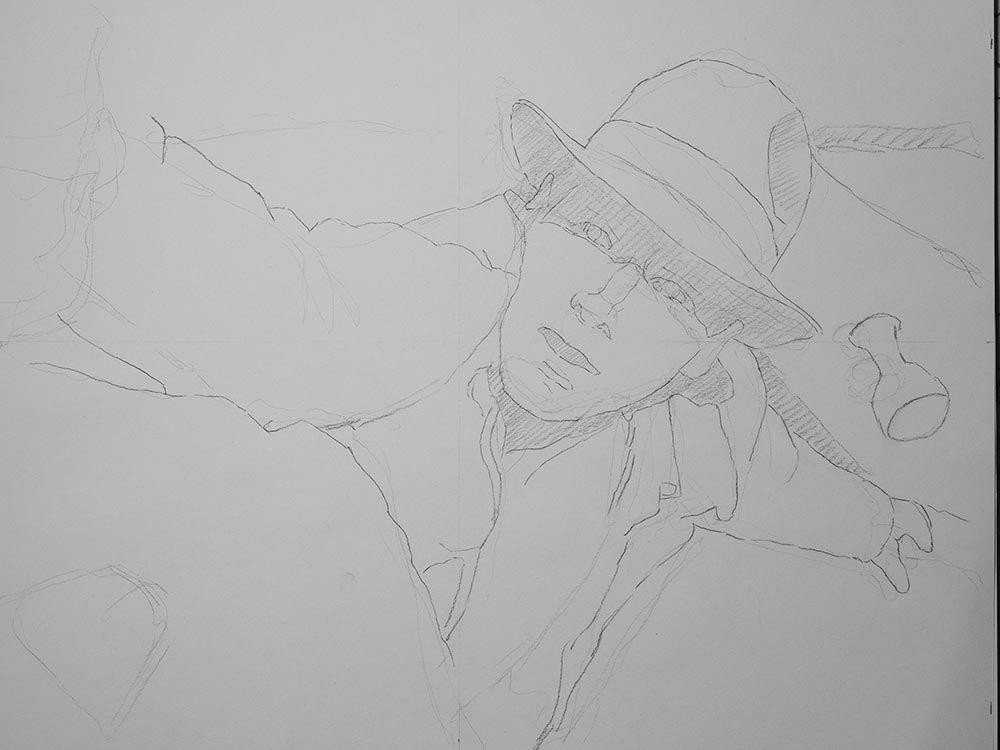 Indiana Jones Drawing cover