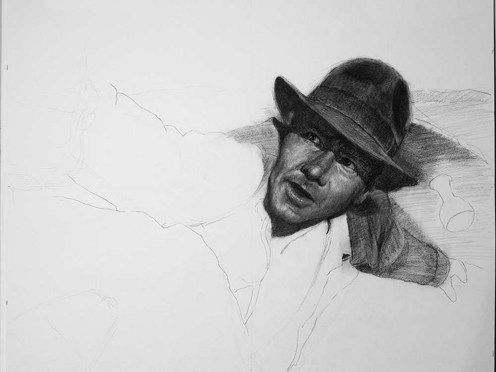Indiana Jones in Charcoal cover