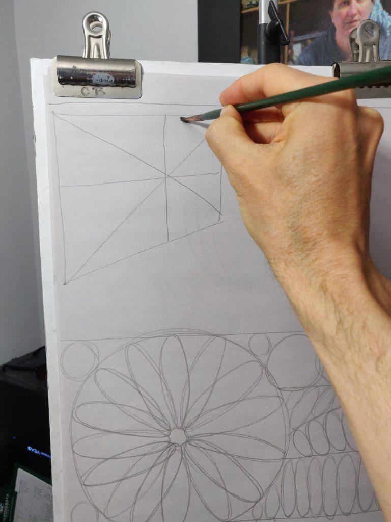 Holding a pencil vs a paintbrush