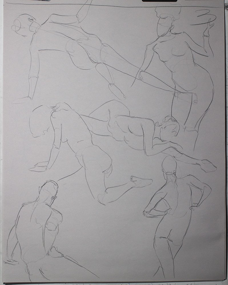Gestures in graphite