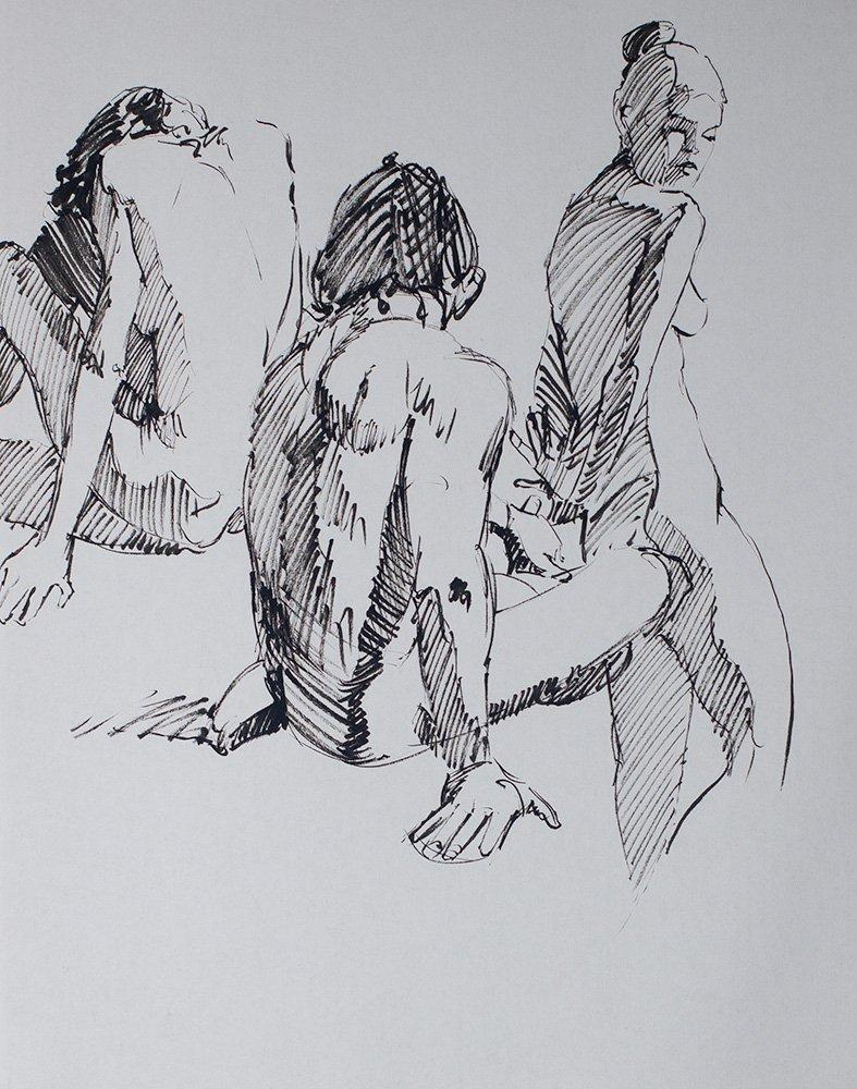 figures in ink