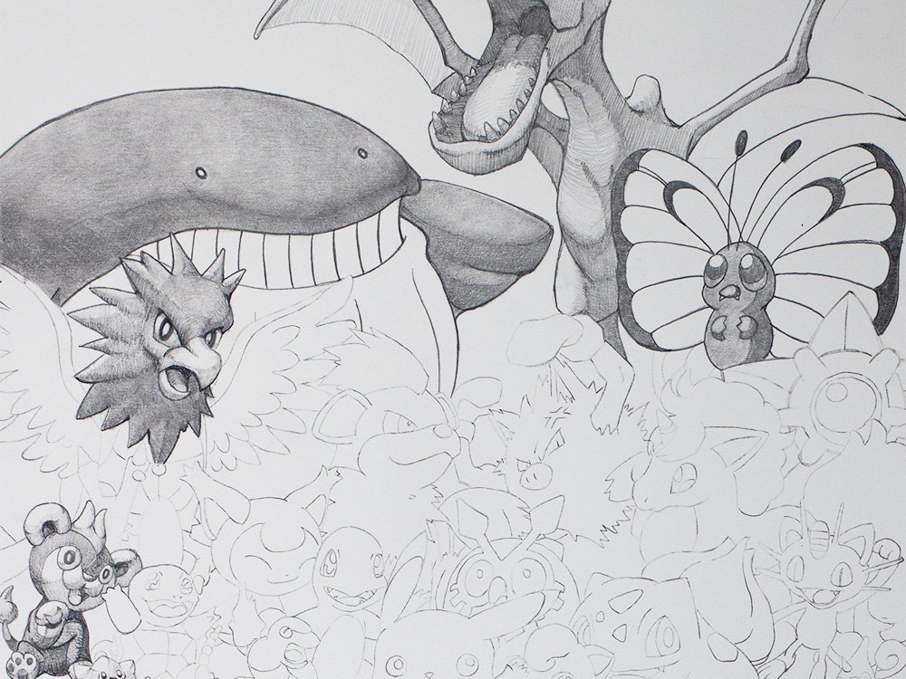 Pokemon Drawing cover