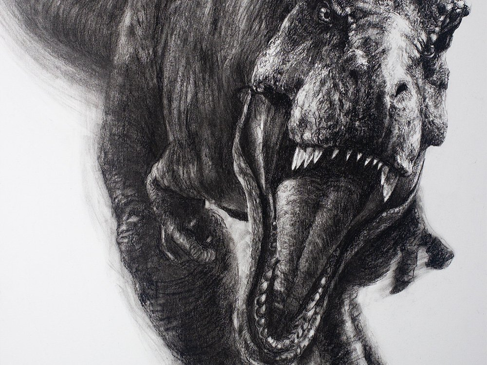 Jurassic Park Drawing cover