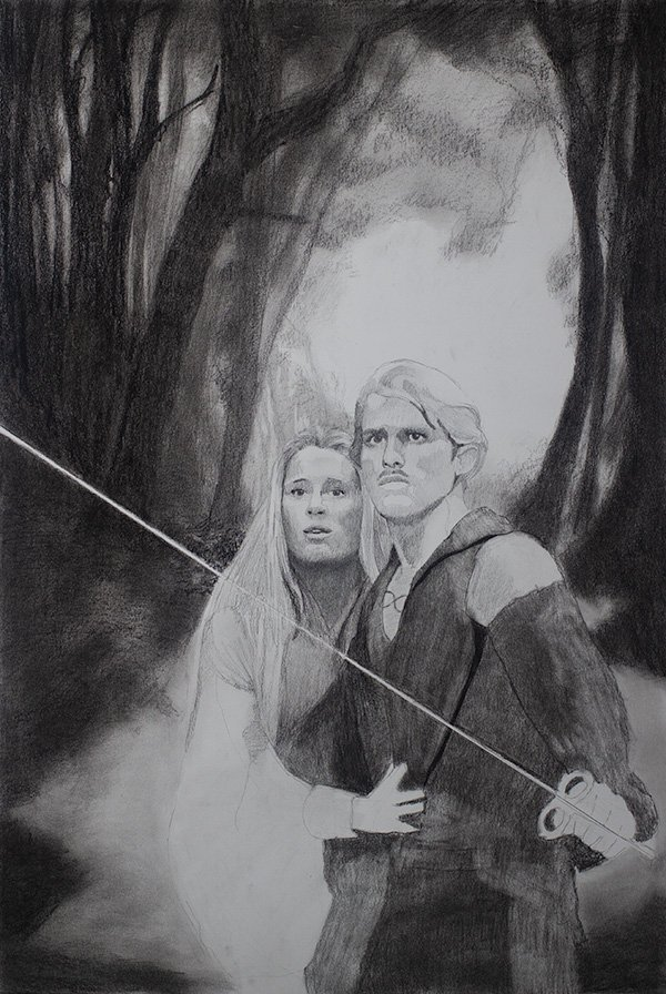 Princess Bride drawing