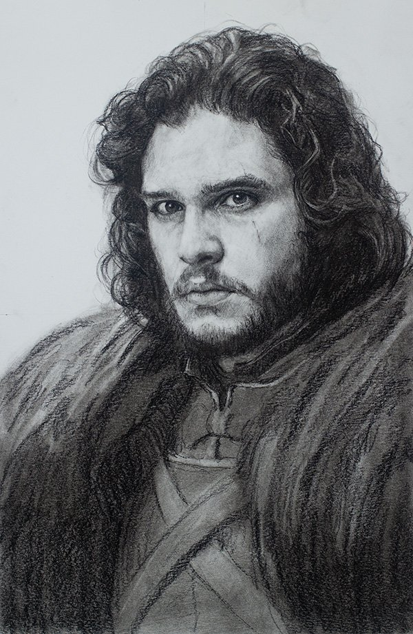 Jon Snow Drawing
