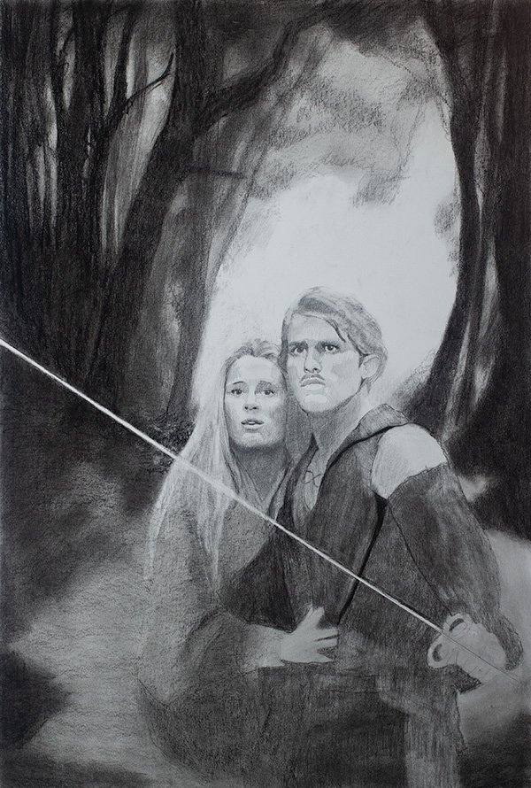 Princess Bride drawing