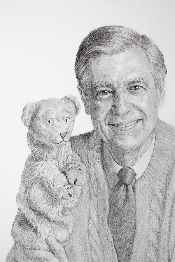 Mr Rogers Drawing