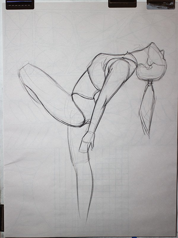 extended gesture study