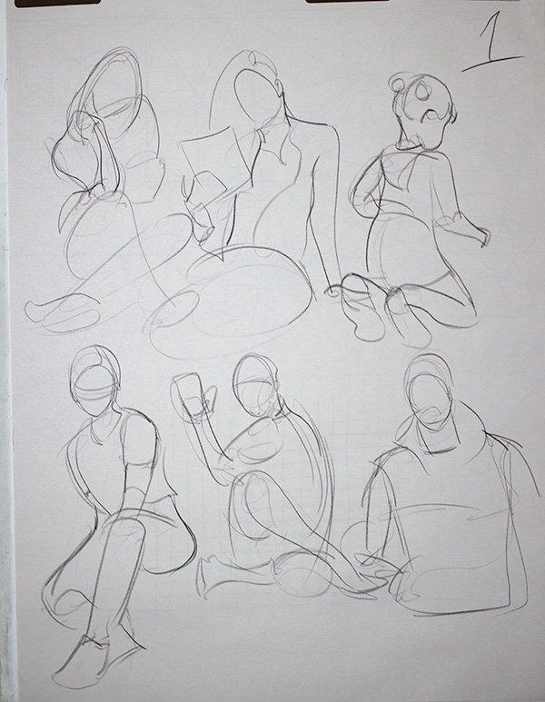 One minute gestures
