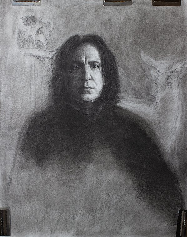 Serverus Snape Drawing