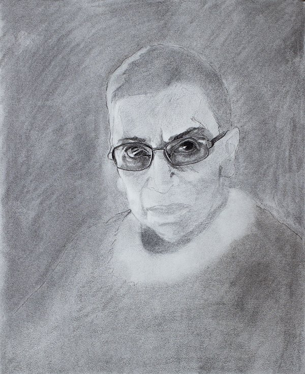 Ruth Bader Ginsberg drawing