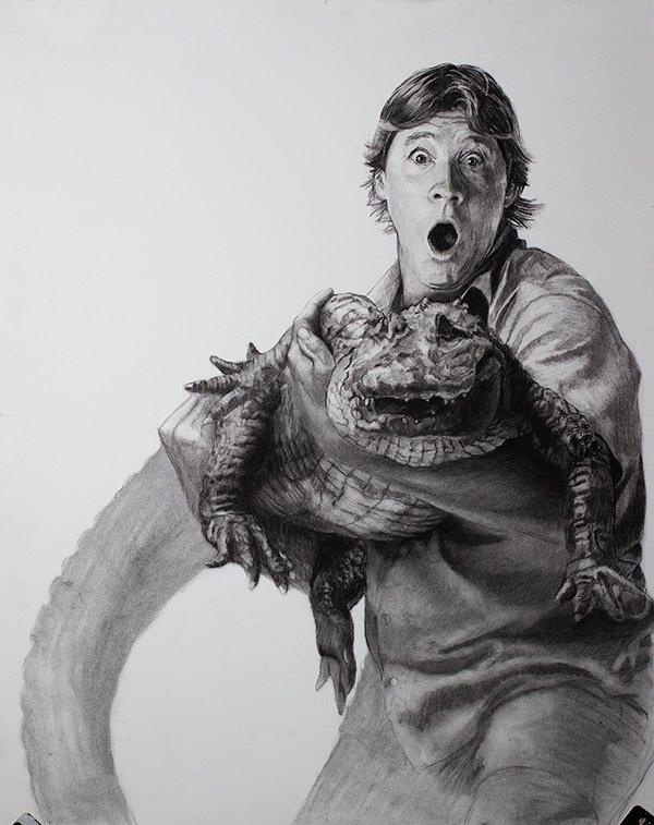 Steve Irwin Drawing