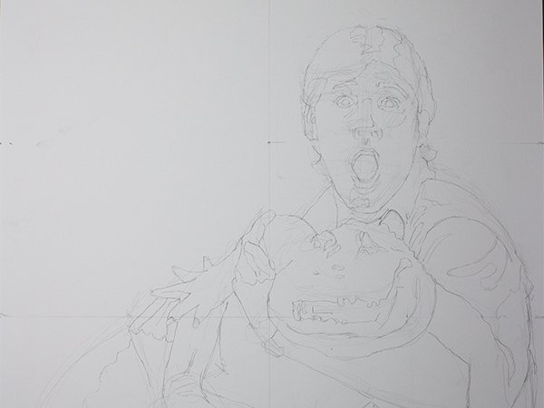 Steve Irwin Drawing cover