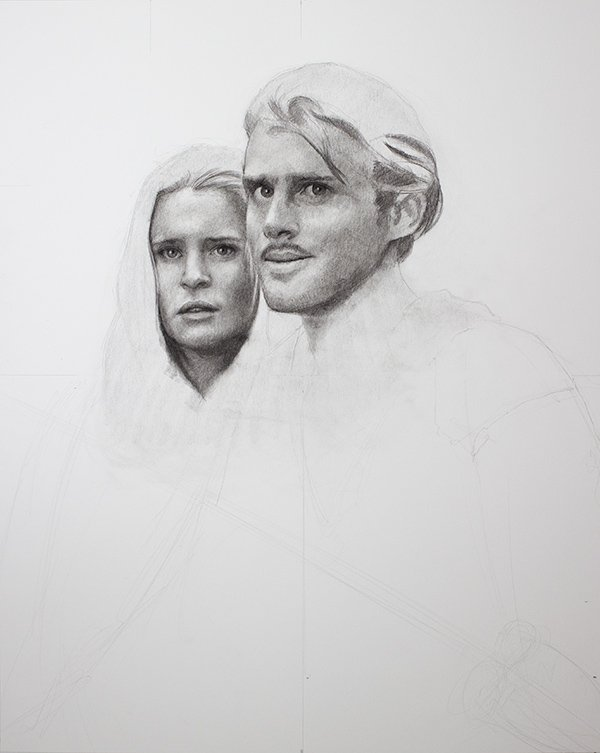 Pricess Bride Drawing