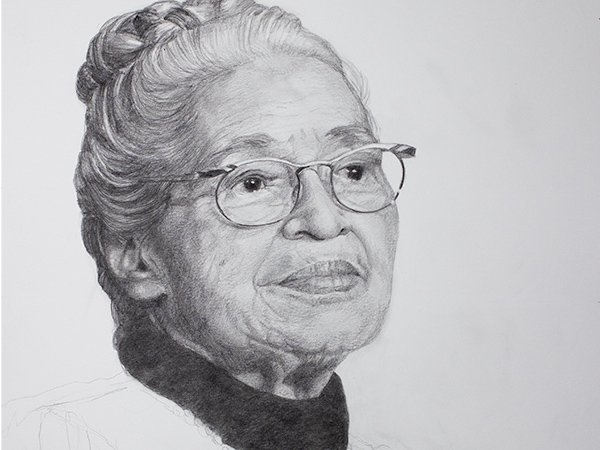 Rosa Parks Drawing cover