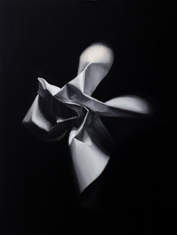 Paper Star Painting