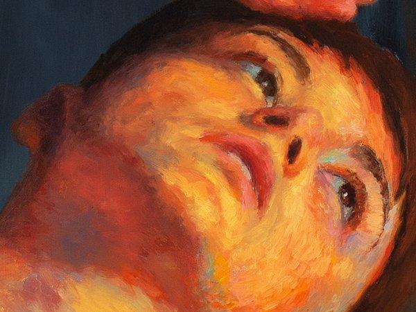 Resurgence Painting detail